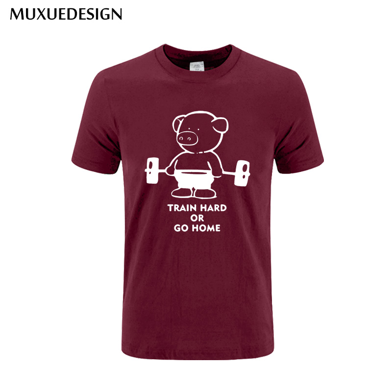 muxuedesign-2017-pig-print-t-shirt-men-train-hard-or-go-home-cotton-casual-t-shirt-fitness-man-clothing-font-b-pokemon-b-font-go-top-tees