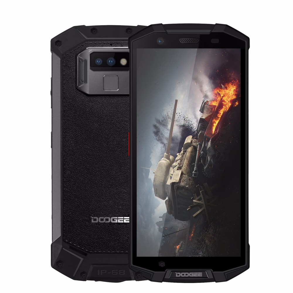 DOOGEE S70 6GB 64GB 5500mAh 4G LTE IP68 Game Phone Android 8.1 5.99 Helio P23 Octa Core 16MP 5500mAh Wireless Charge Smartphone