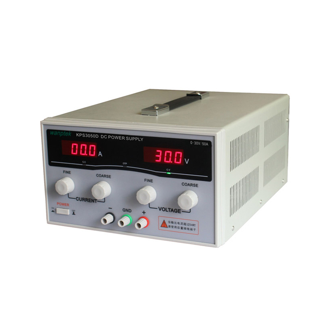 KPS3050D High precision High Power Adjustable LED Dual Display Switching DC power supply 220V EU 30V/50A