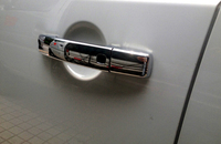 10 15 fit For Land Rover LR4 Discovery 4 2010 2011 2012 2013 2014 2015 ABS Chrome Exterior Side Door Handle Cover Trim 8pcs/set