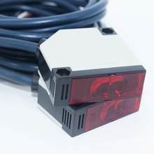Um conjunto de 20-500cm 12-250 v n/o n/c E3JK-5DM1-5L optoelectronic interruptor sensor de proximidade