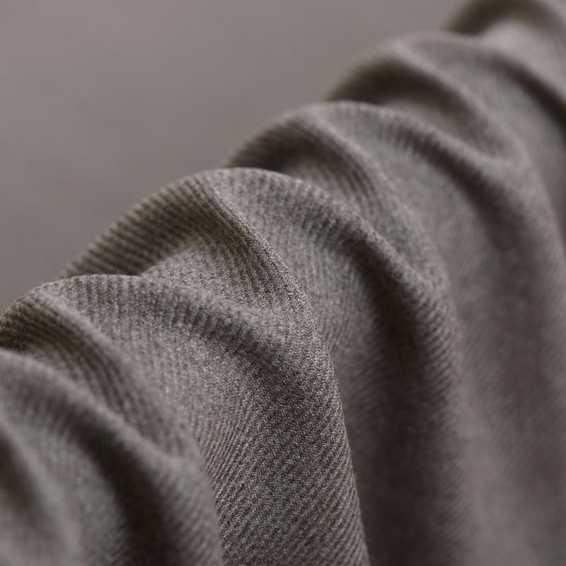 trajes 150 Cm material para abrigos Tela De Lana Marrón Suave Italiano