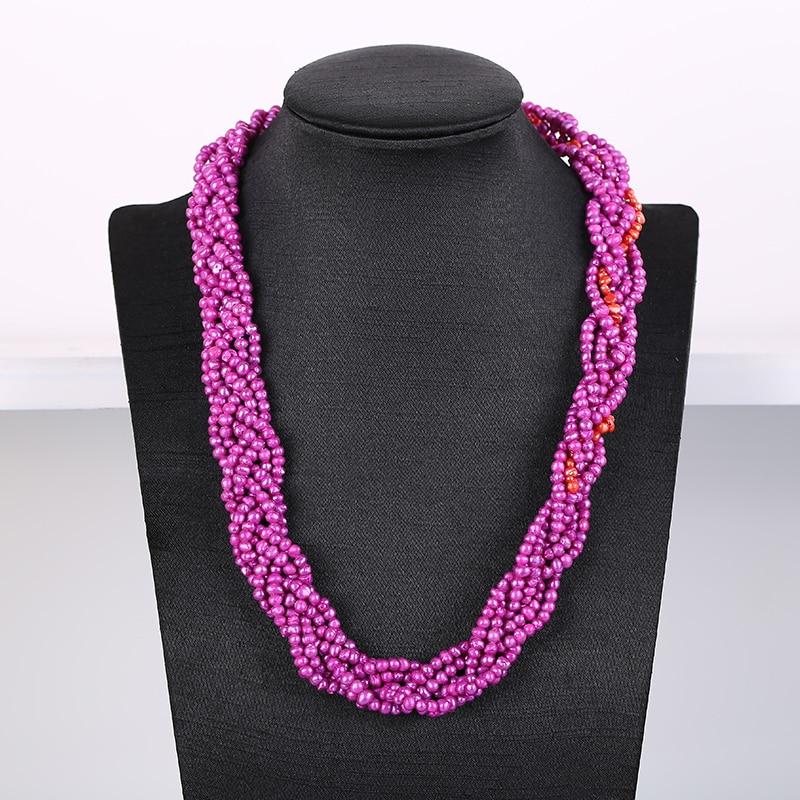 Collier de perles d'eau douce collier de perles pour femmes à envoyer mère 40-50 ans belle-mère pour envoyer aînées belle-mère