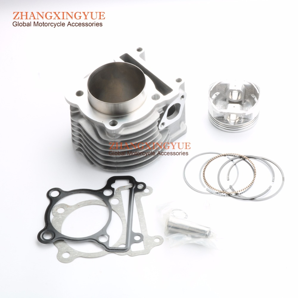 200cc Big Bore Cylinder Assembly for YAMAHA BWS ZUMA CYGNUS Flame-X YW / NXC125 65mm