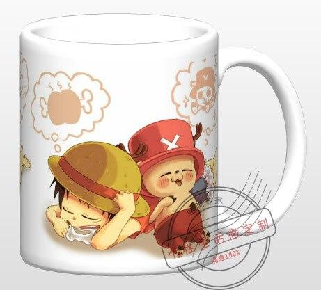One Piece /Q version Luffy <font><b>Joe</b></font> / ceramic coffee milk tea breakfast cartoon <font><b>cup</b></font> movie <font><b>cup</b></font> mug drinkware LIMITED EDITION