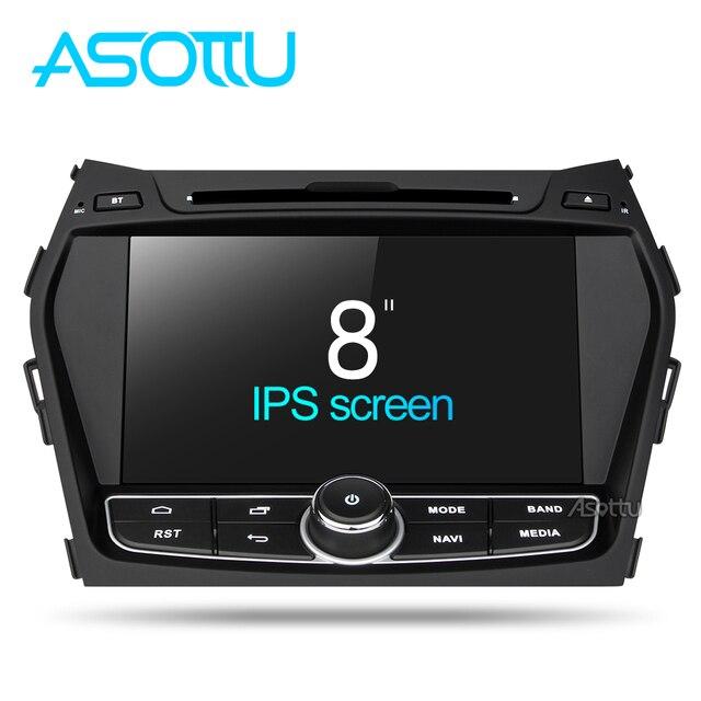 Asottu ZIX458060 Android 7,1 coche dvd Glonass/reproductor gps para Hyundai IX45 Santa fe 2013 2014 coche radio video unidad estéreo 2G + 32G