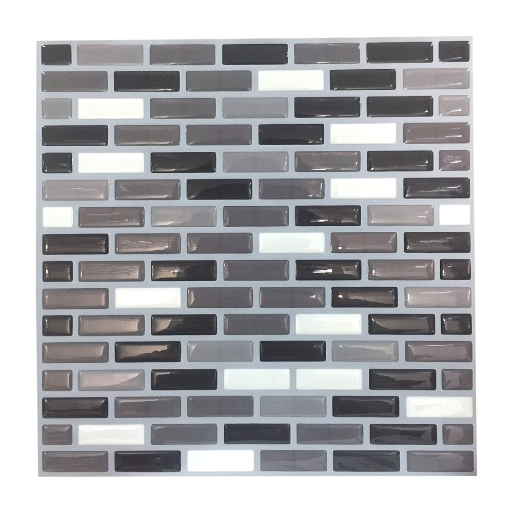 Modern Stone 3D Resin Wallpaper Brick Wall Papers Roll For Living Room TV Background Home Decor Stickers Paper Decals