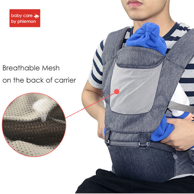 Babycare Multi-function Baby Carrier Belt Ergonomic Infant Carrier Wrap Backpack kid Kangaroos Front Facing Travel Hipseat Sling