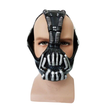 Movie Batman Cosplay The Dark Knight Bane Mask Fullhead Breathable Halloween Party Props Costume Accessories For Men Adults