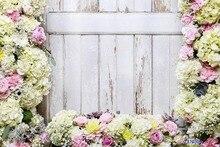 CAIXA MÁGICA da VIDA Sem Costura Enrugamento-livre Lavável Poliéster Flores Fotos Flor Primavera Cenário Cenário Foto Fundos De Vídeo