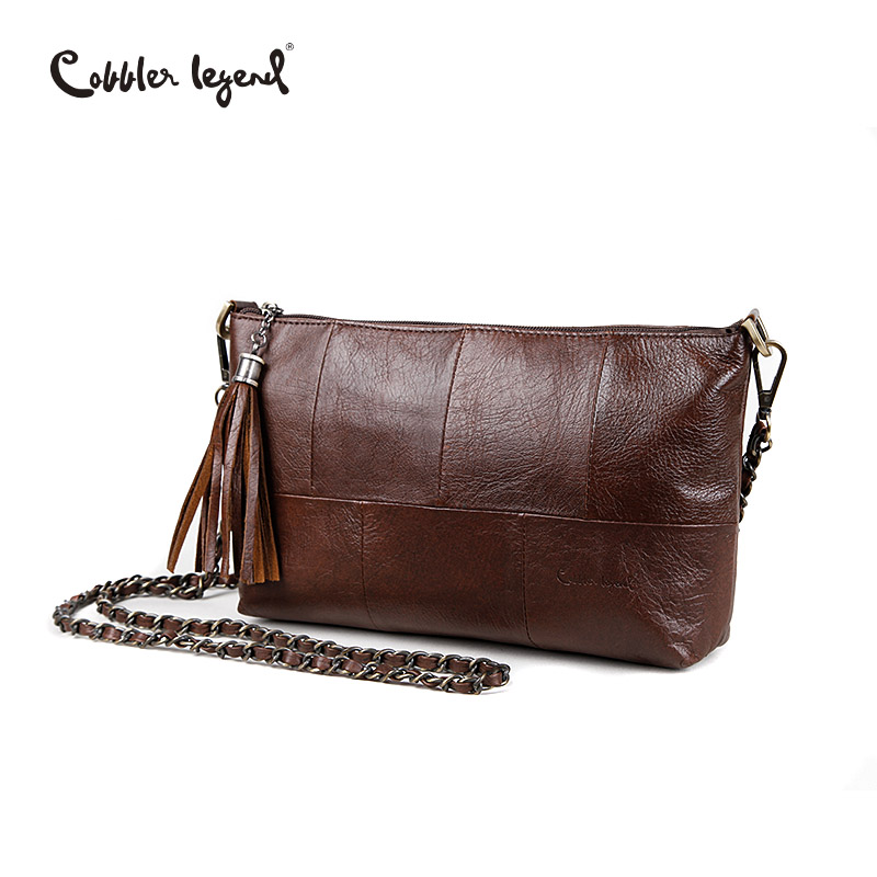 Cobbler Legend Luxury Flap Women Bags Tassel Designer Handbag Vintage Clutch Chain Bag Female Messenger Crossbody Bags For Women cobbler legend 2015 messenger 100