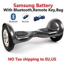 2 wheel Self balance Electric scooter Samsung battery electric Hoverboard Unicycle10 inch Skateboard Standing Drift Board