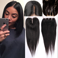 Malaysian Virgin Hair Closure Malaysian Straight Hair Closure Top Closure Lisse Middle Part Three Part Free Part Lace Closure