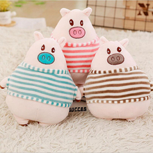New Arrival Lovely Pig Wear Clothe Plush Toy Stuffed Animal Soft Plush Doll Toys Gift For Children cartoon lovely pig wear clothe plush toy stuffed animal doll plush pillow gift for children