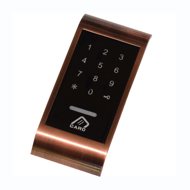Drawer Combination Lock Touch Keypad Password Key Card Access Multifunctional Cabinet Door Lock Digital Electronic Security Lock