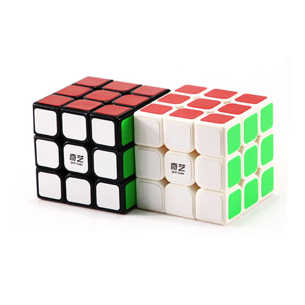 مكعب المهنية 3x3x3 5.7 سنتيمتر سرعة بازل سحري مكعب ضد الإجهاد Neo Cubo Magico ملصق لعب للأطفال الكبار التعليم لعبة
