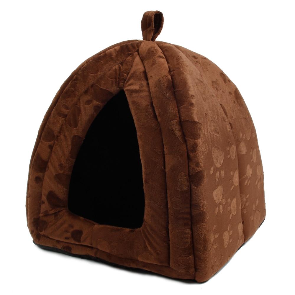New Arrive Pet Kennel Super Soft FabricDog Bed Princess House Paw - Үй жануарлары өнімдері - фото 2