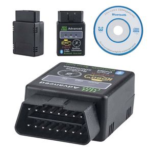 Image 2 - 자동차 결함 스캐너 컴퓨터 진단 검사 도구 프로 OBD2 고급 ELM327 V2.1 블루투스 자동차 스캐너 진단 검사 도구
