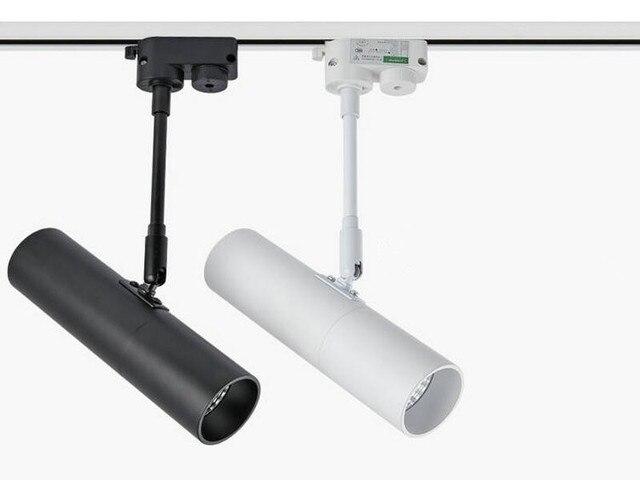 High Quality Modern Led Reflector Track Light Rail Spot Lamp Cree Cob 15w 20w