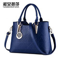 Women bag new 2016 luxury handbags of high quality pu leather fashion handbags women top - handle bag sac feminina main family
