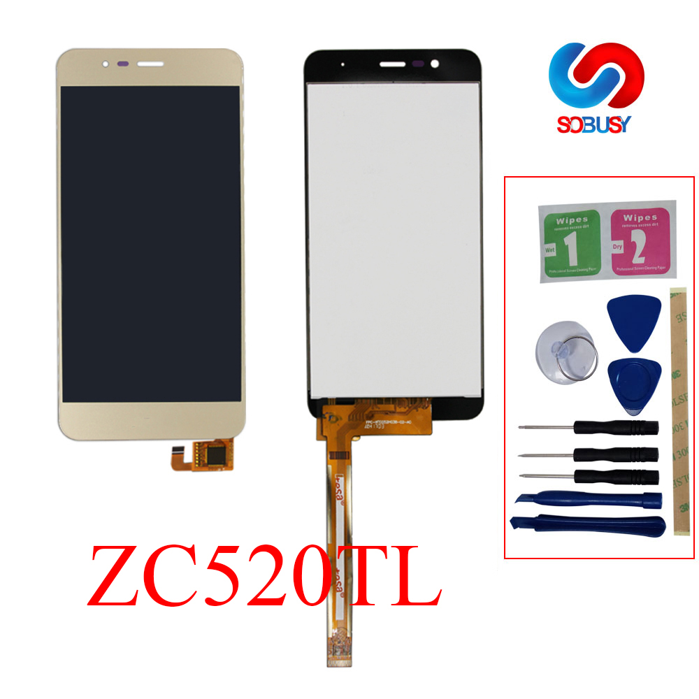 Tested 5.2'' LCD Display For <font><b>Asus</b></font> <font><b>Zenfone</b></font> <font><b>3</b></font> <font><b>Max</b></font> <font><b>ZC520TL</b></font> X008D LCD Touch <font><b>Screen</b></font> with Frame Digitizer Assembly <font><b>Replacement</b></font> parts image