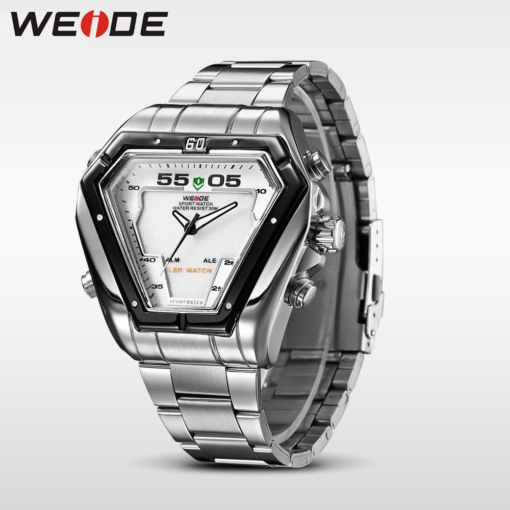 WEIDE Fashion Casual Luxury Klockor Män Luxury Luxury Quartz Watch - Herrklockor - Foto 5