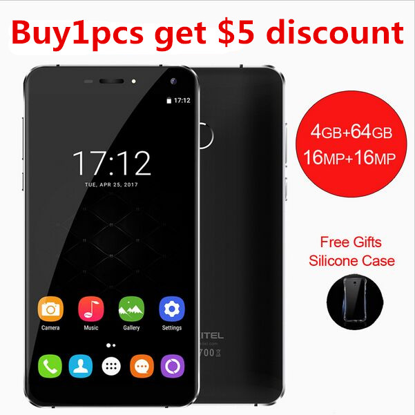 Oukitel U11 Plus 1920x1080 5 7 FHD Octa Core smartphone 4GB RAM 64GB ROM MTK6750T Android