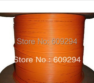 Fiber Optic Cable Multimode 2 core Indoor fiber optical cable (Duplex Zipcord) PCV jacket, 3.0mm Orange