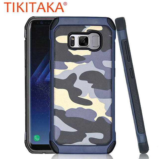 hot sales e21d9 5bb00 US $3.21 |Cool Military Camouflage Case For Samsung Galaxy S8 S7 S6 Edge  Plus Funda Hard Shockproof Armor Cover For Samsung J1 J5 J7 Shell-in Fitted  ...