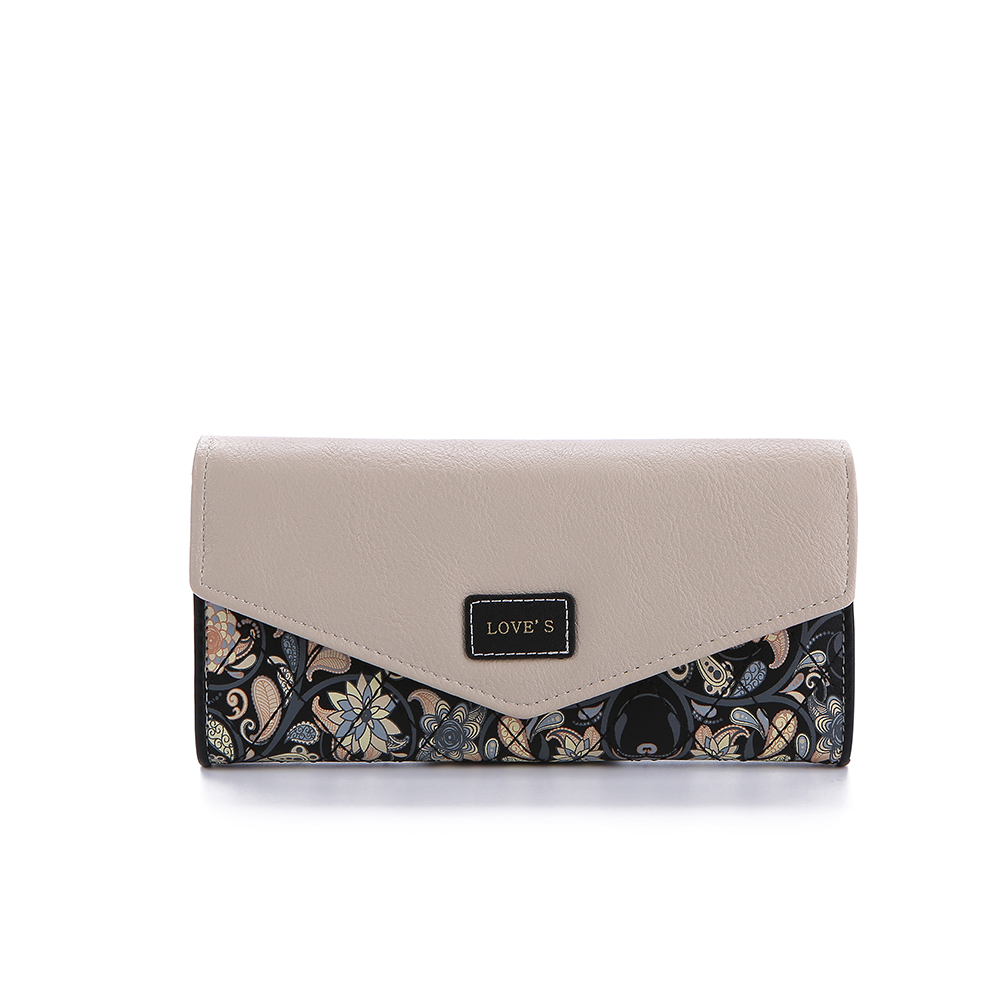 moeda da carteira feminina Interior : Bolso Interior do Zipper, passcard Pocket, bolso Interior do Entalhe, coin Pocket, note Compartment, suporte de Cartão