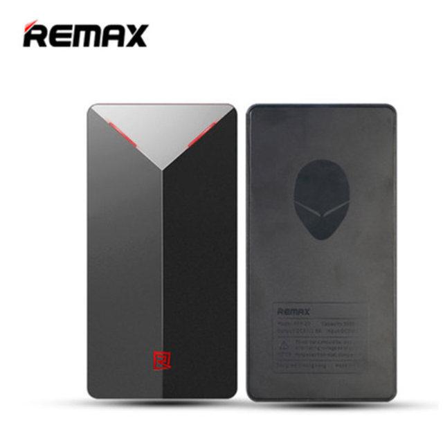 Remax aliens li-bateria de polímero de 5000 mah portátil power bank universal grande bateria externa para samsung para huawei para iphone