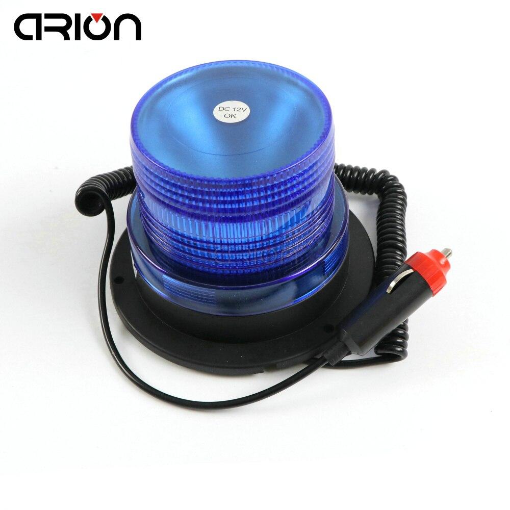 CIRION DC12V 24V Blue Car Truck Strobe Flash Beacon Warning Light Strobe Emergency Light Police Lights Lamp Free Shipping