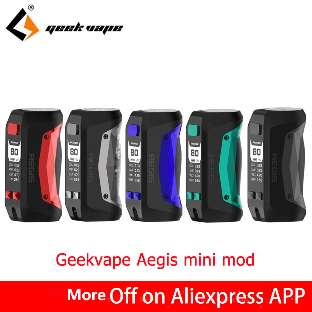 New arrivial 80W Geekvape Aegis Mini Mod built in 2200mah battery for Geekvape Cerberus Tank fast