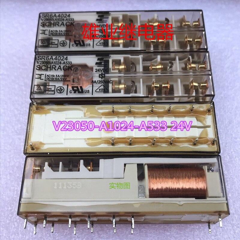 Relay  V23050-A1024-A533 24VDCRelay  V23050-A1024-A533 24VDC