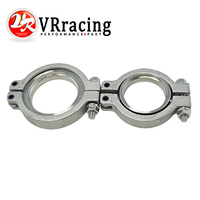 VR RACING V Band Flang Clamp Set For MVR 44mm WASTEGATE V Band Kit VR5834FC