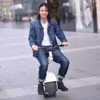 Nueva llegada una rueda monociclo eléctrico 13 pulgadas neumático 60 V 800 W 15 km/h auto equilibrio eléctrica motocicleta hoverboard