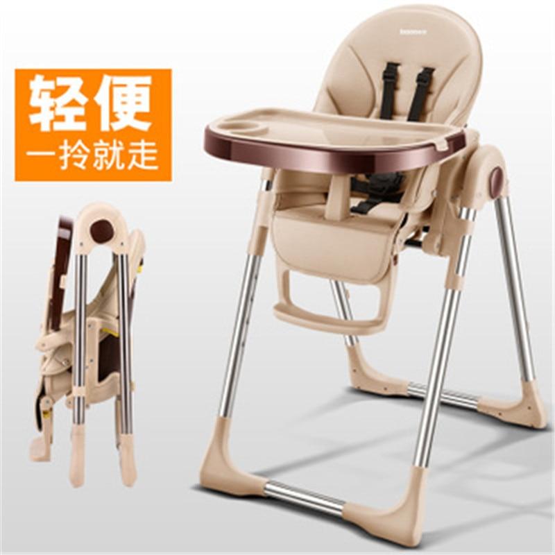 Nouveauté bébé à manger chaise pliante enfant enfants bébé chaise haute bébé chaise pour bébé alimentation