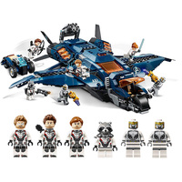 Marvel Avenger Legoing 76126 Ultimate Quinjet Super Heroes Building Blocks 932 Piece Bricks Children Toy Birthday Gifts