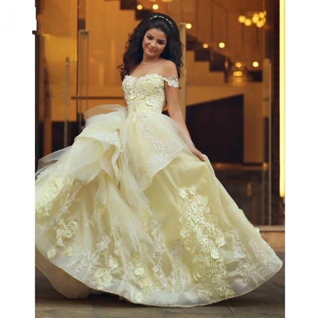 2017 New Saudi Wedding Dresses Bride Cute Sweetheart Neckline ...