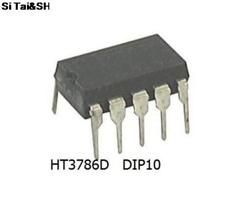 1PCS  HT3786D HT3786 3786 DIP10 Original Authentic And New