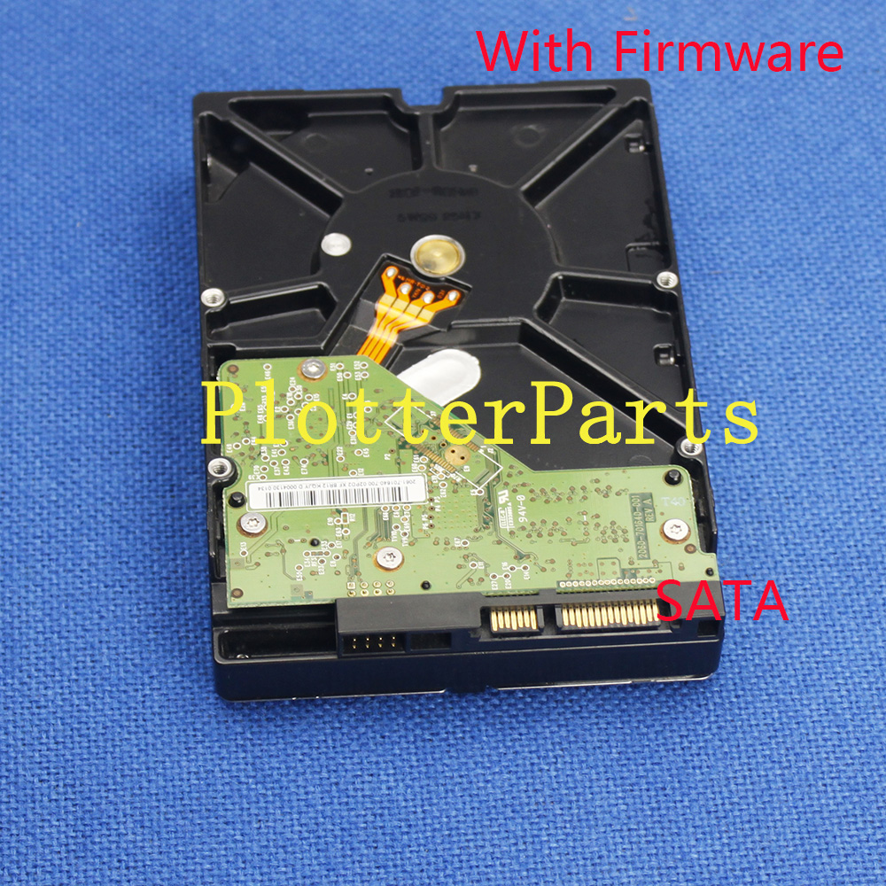 F2L45-60036 HDD SATA for HP Designjet D5800 With firmware Hard disk drive USED q6675 67033 new hard drive disk for designjet z2100 z3100 ps 160gb w fw sata hdd q6675 60121 q5670 67001