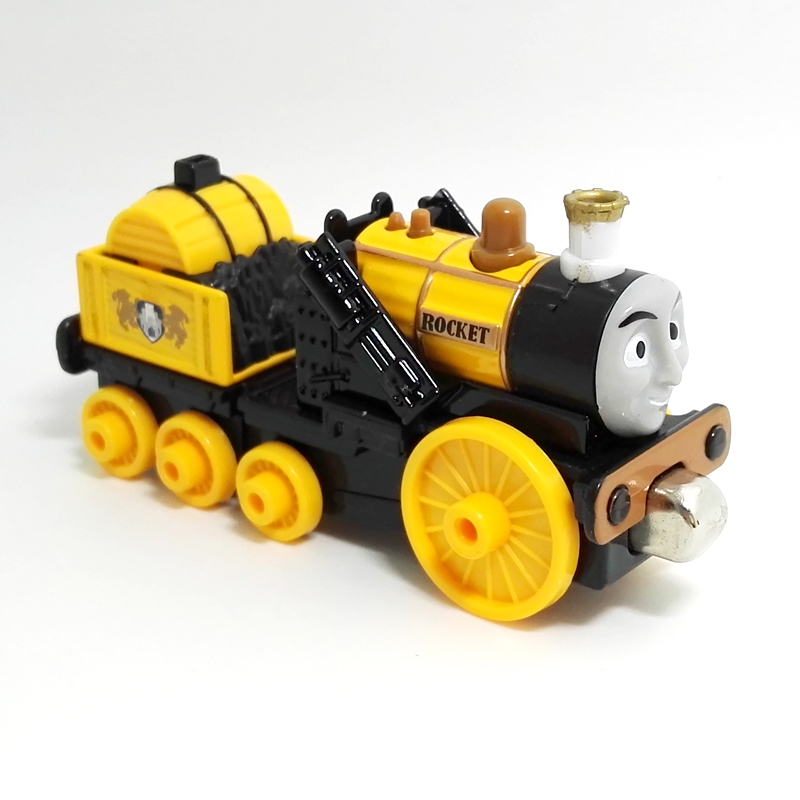 x110 New version Diecast Magnetic THOMAS and friend ROCKET STEPHEN The Tank Engine take along train metal children kids toy gift pip and posy the new friend