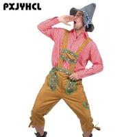 Adult Lederhosen Oktoberfest Cosplay Costume For Men German Bavarian Octoberfest Beer Festival Party Set Costumes Outfit