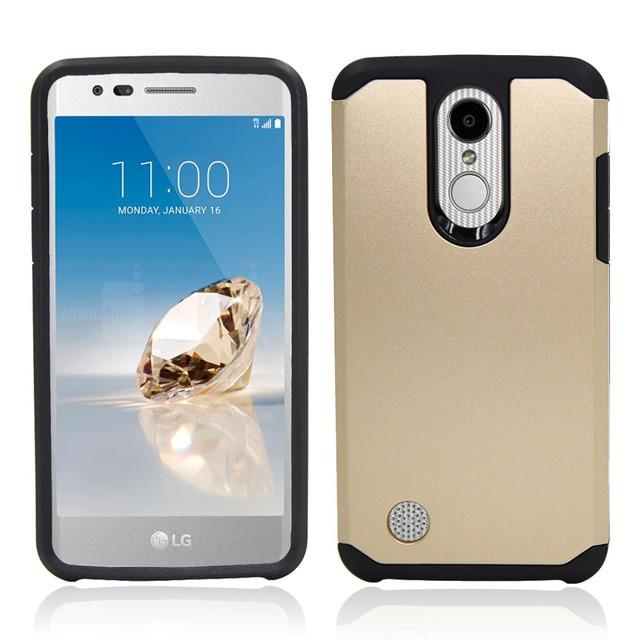 gold Phone case lg k20 5c64f48294531