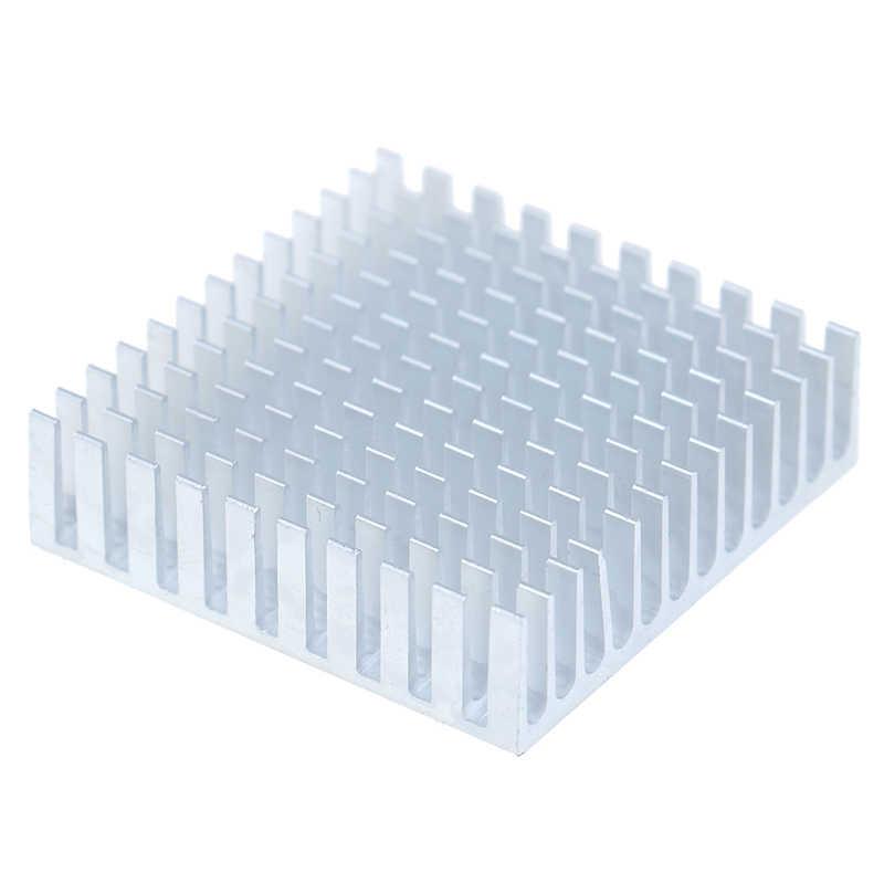 2pcs Dissipatore di Calore In Alluminio Dissipatore di Calore Del Radiatore di Raffreddamento del dispositivo di raffreddamento Per Chip Elettronico IC LED di raffreddamento del computer Con Termico Nastro Conduttivo