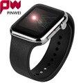 Pinwei smartwatch bluetooth smart watch reloj para dispositivos portátiles de apple iphone ios android teléfono reloj deportivo pk gt08 dz09