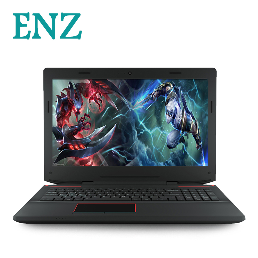 ENZ X36 laptop 15.6inch Gamebook window 10 1920*1080 notebook GTX1060 i7-6700HQ