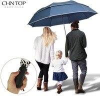 Super Big Golf Business Umbrella Men Rain Woman Double Layer Windproof Paraguas 2flod Big Top Quality