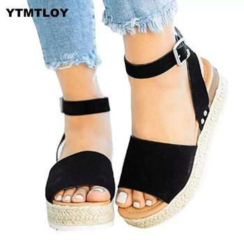 11 Sandals Women Wedges Shoes Pumps High Heels Sandals Summer 2019 Flip Flop Chaussures Femme Platform Sandals Sandalia Feminina 1
