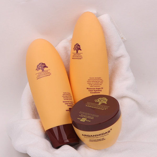 Arganmidas Argan Oil 450ml Hair Shampoo Conditioner And Hair Mask Best Daily Care Free Shipping